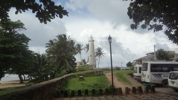The Light House, Leaving Galle Fort.