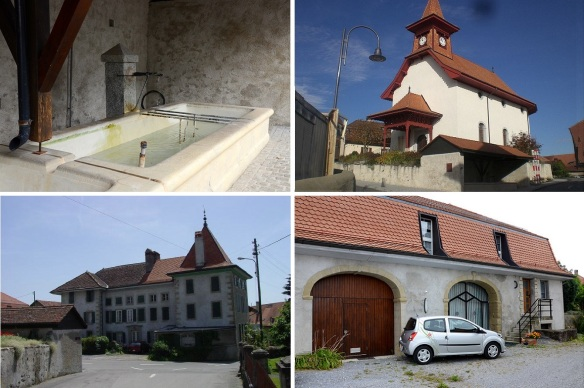 Cultural properties of Sullens. (Photos are from the brochure.)