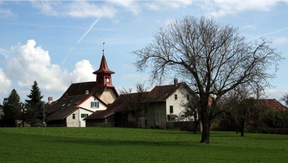 Church of Sullens, heart of the villager