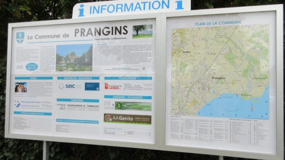 Information of la Commune de Prangins