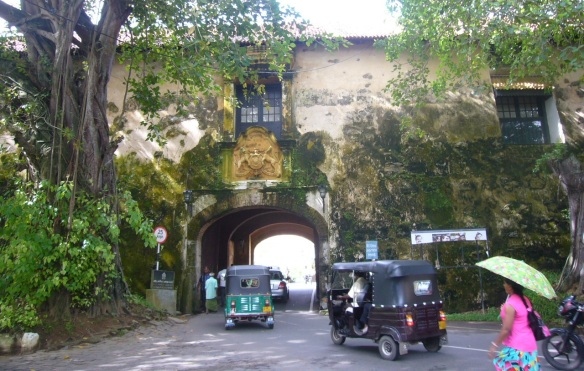 Old Gate of Galle Fort