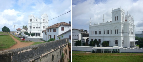 Beautiful and old Meera Mosque inside Galle Fort