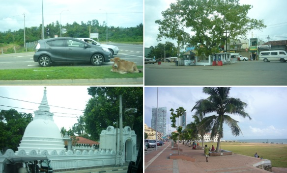 Photos, on the way to Colombo City