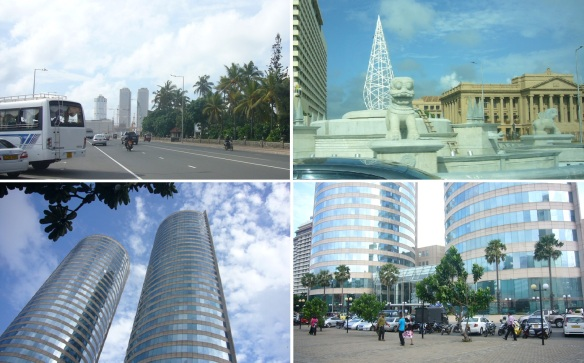 Scenery of Colombo city
