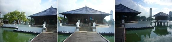 Seema Malaka Temple is really beautiful.