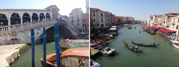 Rialto Bridge over the canal