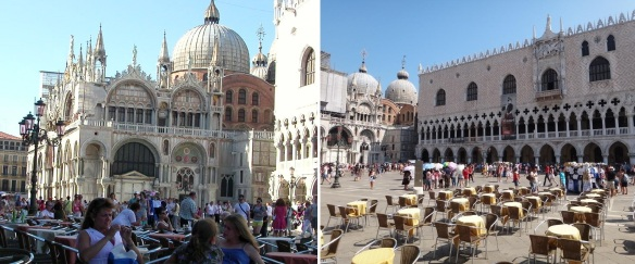 Patriarchal Cathedral Basilica of Saint Mark (Saint Mark's Basilica) and Piazza San Marco (St Mark's Square)