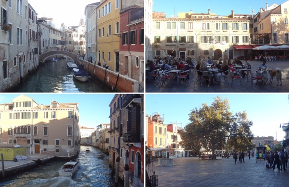 Venice canal and square