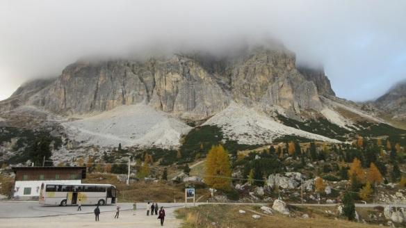 The Falzarego Pass (Passo di Falzarego)