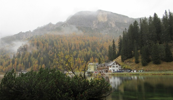 Monte Cristallo (Crystal Mountain) and Lake Misurina