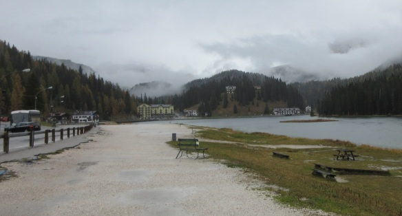 Southern end of the lake Misurina