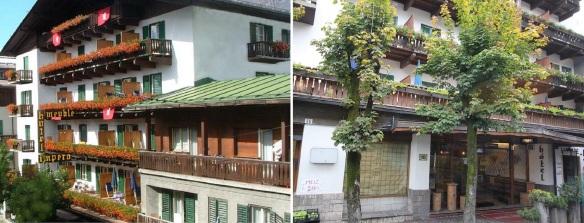 My accommodation, Hotel Impero Cortina d'Ampezzo.