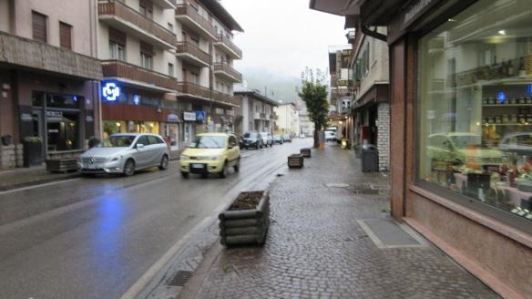 Battisti Street of Cortina d'Ampezzo