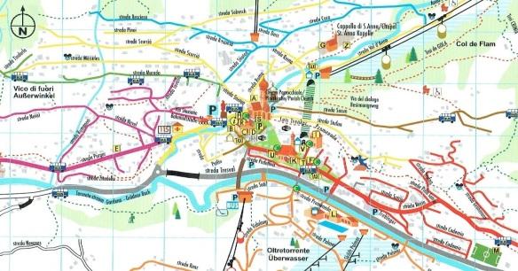Ortisei Map