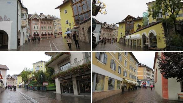 Walking around the Ortisei Old Town.