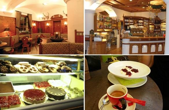 The interior of the Café Corso.