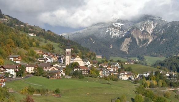 Village Centre of San Pietro, Valley of Funes