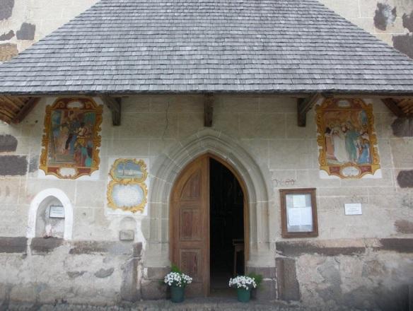The Façade of the church.