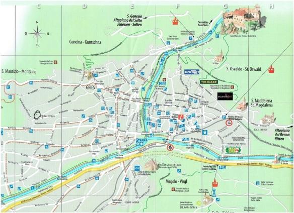 Bolzano Map