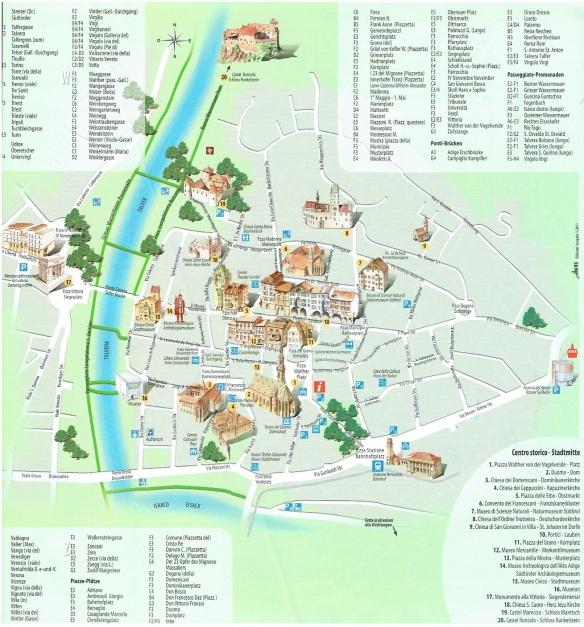 Bolzano Town Centre