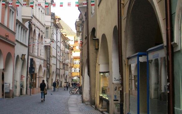 Street called Laubengasse