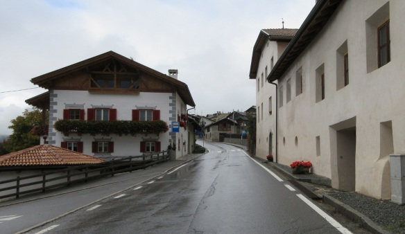 Main Street of the Taufer Village.