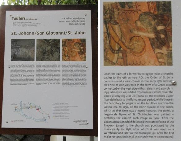 Description of St. John Taufers