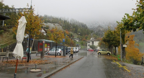 Filisur station square