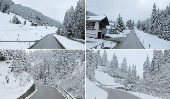 Scenery of Sertig Valley
