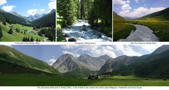 Pictures of Sertig Valley (photos are from Wikipedia)