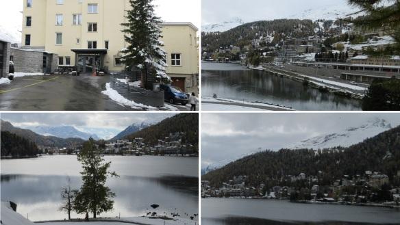 Hotel Waldhaus am See and Saint Moritz Lake