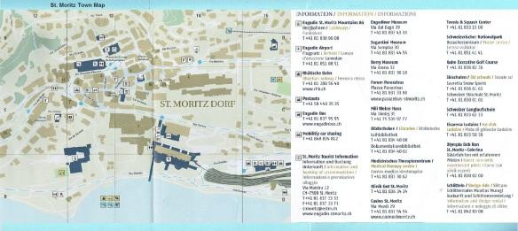 Map of St. Moritz-Dorf Centre
