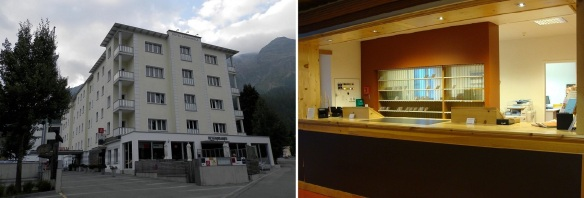 Hotel Laudinella in St. Moritz-Bad Area
