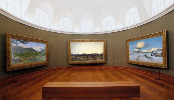Upper floor of the museum.