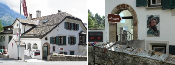 Berry Museum on the street of Via Arona, St. Moritz