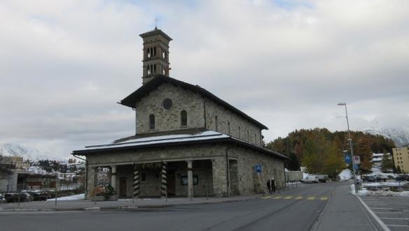Catholic Church of St. Charles Borromeo in Saint Moritz