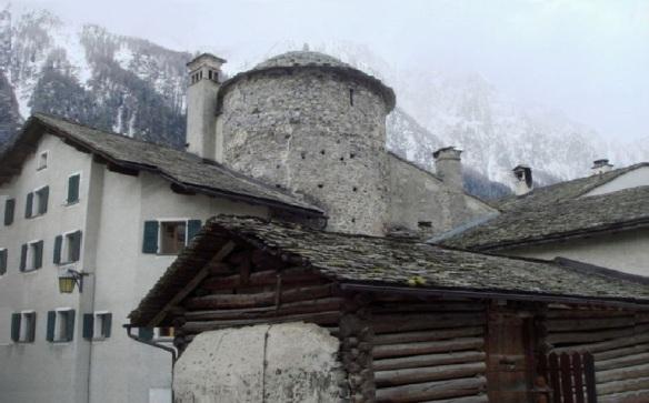 The round tower Senwelen