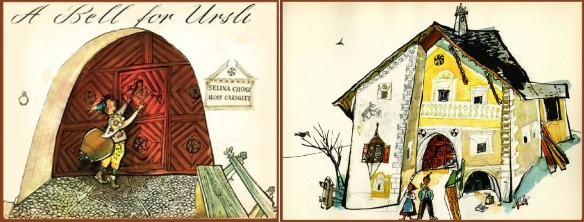 The Book of A Bell for Ursli (Schellen-Ursli) and House of Ursli