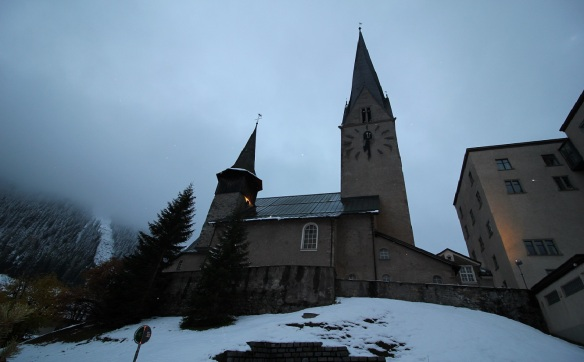 The Church St. Johann in Davos