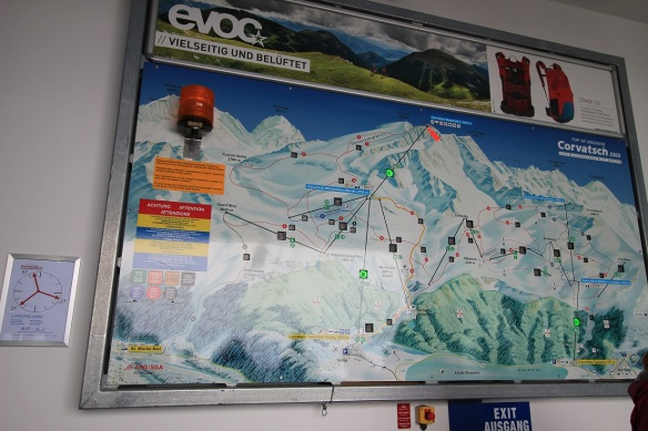 Information board Top of Engadin Corvatsch 3303, Sils, Silvalana, St. Moritz