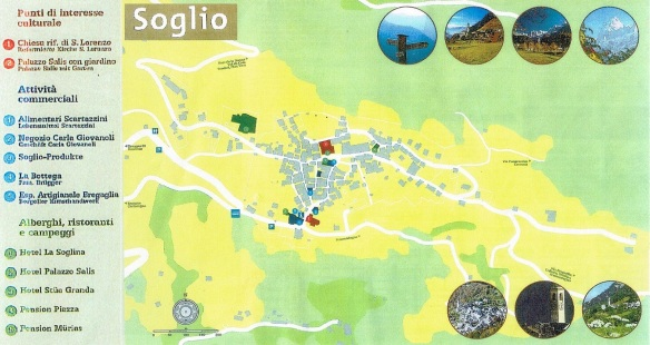 I got the town map of Soglio in the tourist information office.