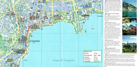 Lugano Town Map