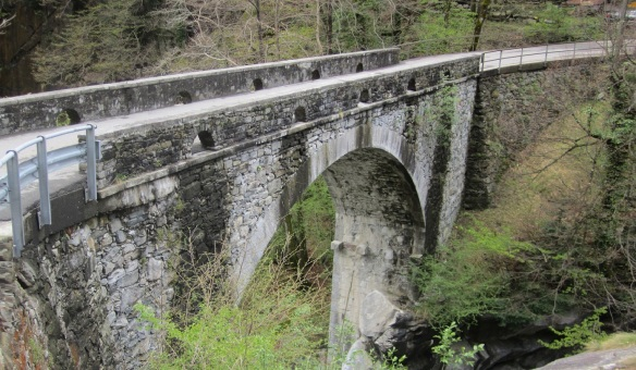 Stone Bridge across the Verzasca River