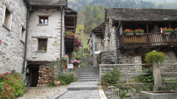 Lovely houses in Sonogno