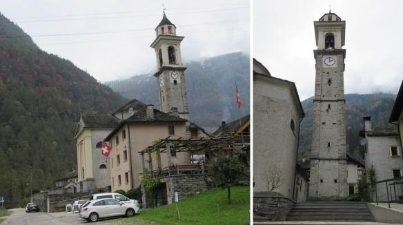 The parish church of St. Maria Loreto Sonogno