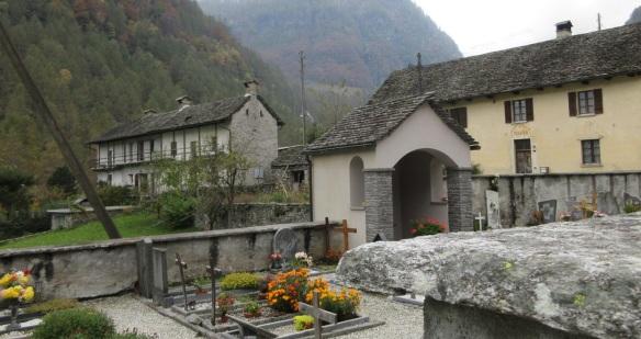 Churchyard of St. Maria Loreto