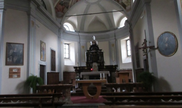 Altar of the Church of St. Bernard Frasco