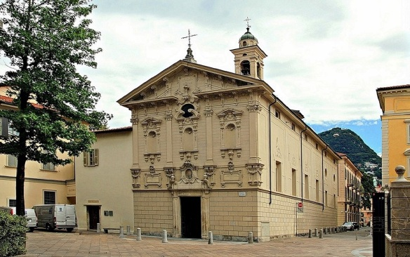 Church of St. Rocco Lugano
