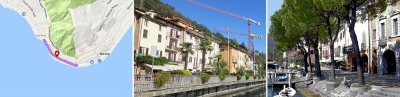 Riva di Pilastri (Street, Shore of Pillars) / Nucleo di Morcote (Center of Morcote) / Lungolago (Promenade)