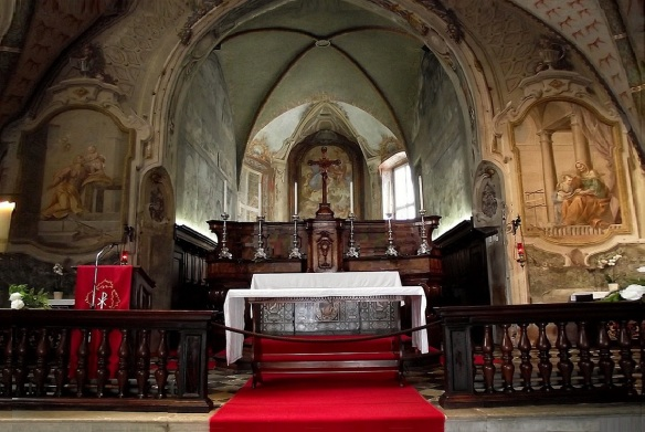 The Main Altar in the Church Santa Maria degli Angeli